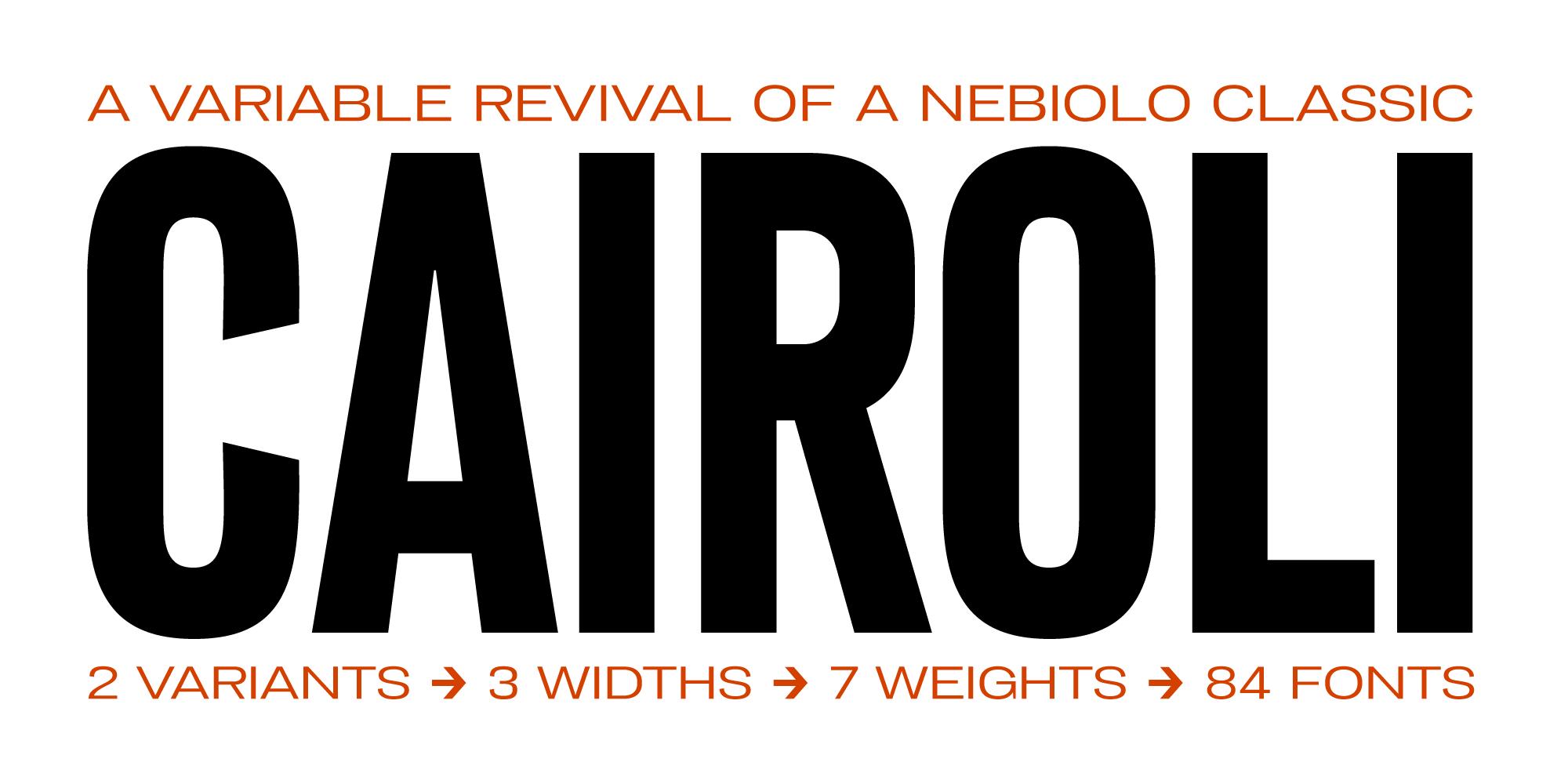 Cairoli Typeface By Zetafonts
