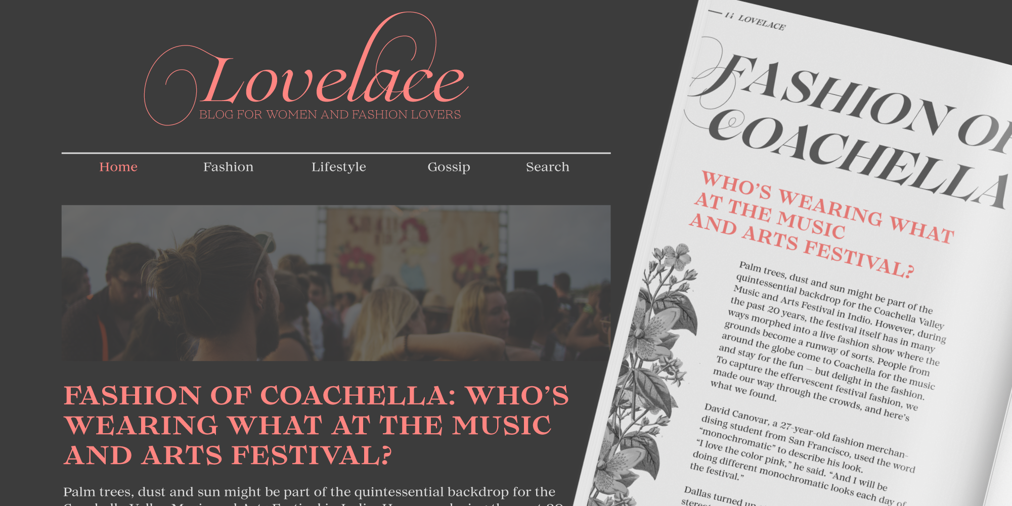 Lovelace website