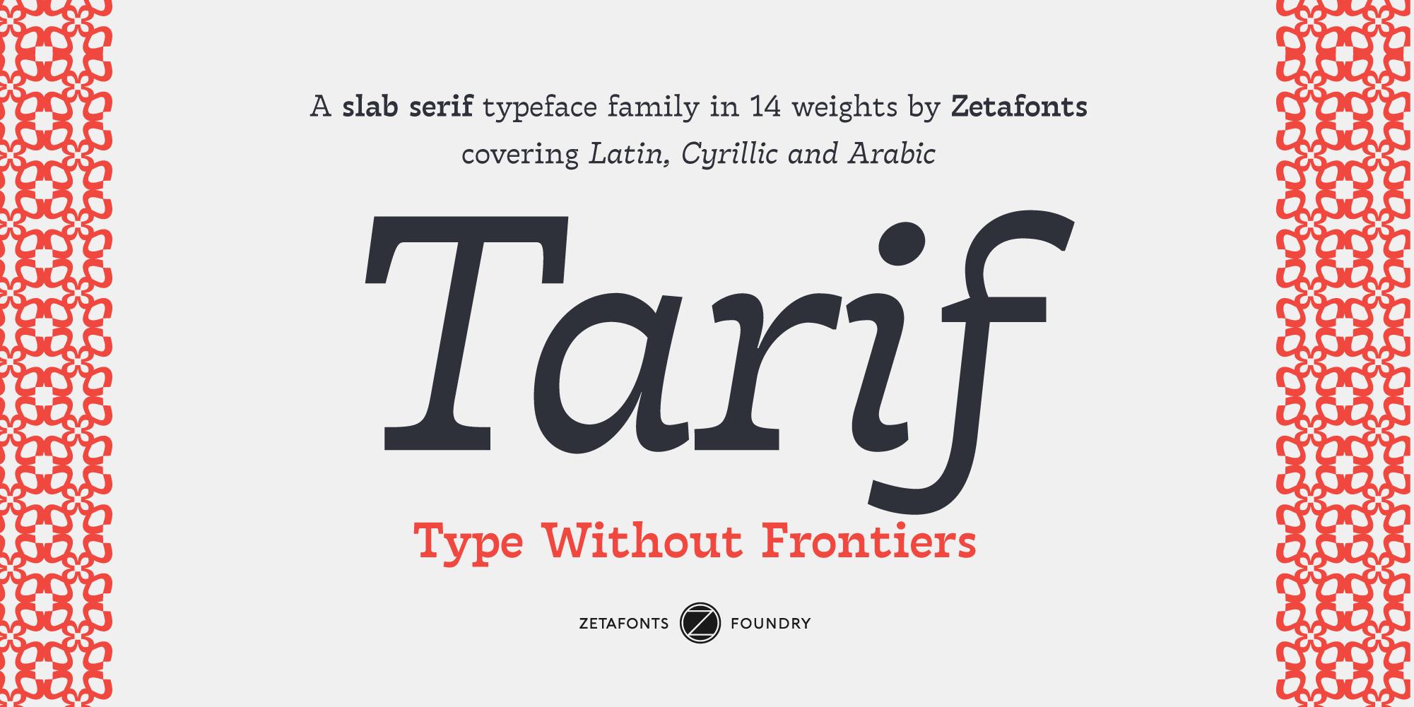 zetafonts - the fonts foundry